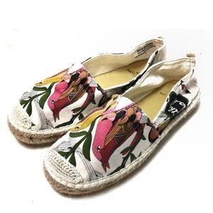 Sakroots Bird Print Shoes
